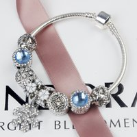 Wholesale whosale rings resale online - Big hole charm bracelets for women pandora bracelets hotsell fashion bracelet freeshipping whosale bracelets
