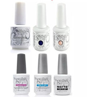 Wholesale best gel polish base coat resale online - best hot Harmony Gelish Nail Polish STRUCTURE GEL Soak Off Clear Nail Gel TOP it off and Foundation Led UV Gel Polish Top coat Base coat