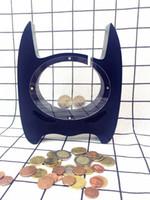 Wholesale Arts Bank - Wooden Batman Piggy Bank Children Coin Bank Money Box Nursery Art Home Decor Dispenser Money Safe Kids Room Craft Gift For Kids