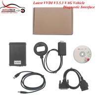 Wholesale Vvdi Interface - Wholesale-DHL Free! Latest VVDI V3.5.3 VAG Vehicle Diagnostic Interface Open Read Pin CS   MAC VVDI Auto Programmer High quality