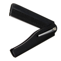 Wholesale Hair Styling Tools For Men - New Style 1pcs Hair Beauty Folding Moustache & Beard Comb Hand Made Tools For Men Women