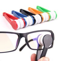 2Pcs Eyeglasses lidar com escova de óculos de sol limpador home use spectacles clean escova brushing
