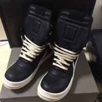 Wholesale Western White Lace Tops - Top Final version Hip-hop DRSK OWEN classical genuine leather men BOOT WHITE+ BLACK factory wholesale