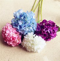 HOT Silk Single Stem Hydrangea Floor Mounted 80 см / 31,5
