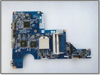 Wholesale Motherboard For Hp G62 - 597673-001 for HP CQ62 G62 laptop motherboard non-integrated FOR AMD DDR3 free shipping