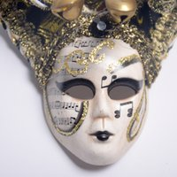 Masque de masque de masque de fête masquerade dress dress up Pretend display Festive et fournitures de fête 10 * 10CM Venetian Vintage Carnival Costume Mask