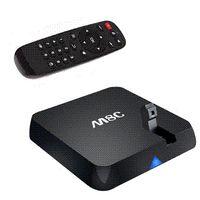 Wholesale Android Tv Box Rj45 Camera - quad core tv box camera skype Android 4.4 3d 4K m8 Amlogic 2G 8G XBMC Dolby HDMI RJ45 LAN dual wifi 2.4G 5G