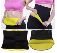 Wholesale Waist Trimmer Belt Wholesale - Women Hot Neoprene Body Shaper Slimming Waist Trainer Trimmer Corset Slim Belt Slimming Waist Trainer Cincher Yoga Belt
