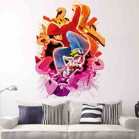 Wholesale Skateboard Room Decor Wall Stickers - New fashion 3D printed Skateboards Sport wall stickers decor bedroom houseroom stickers house home decoration Eco-friendly PVC safe material