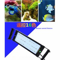52cm étendu à 70cm 11W RGB LED Aquarium Light pour poissons Reef réservoir 100 ~ 240V Plug and Play With Power Supply