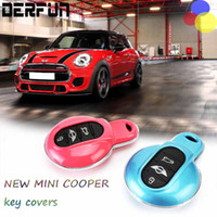 Wholesale Key Cover Colors - All New MINI Cooper Key Colorful Cases Cover Fit For BMW MINI F55 F56 6 Colors Free Shipping