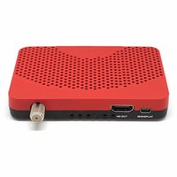 Wholesale Mini Satellite Receiver Tv - Mini Size DVB-S2 American Satellite Iptv Combo FTA Receiver TV BOX + Wifi Dongle