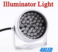 Wholesale Infrared Illuminator For Night Vision - 48 LED illuminator Light CCTV IR Infrared Night Vision For Surveillance Camera