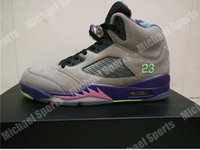 Wholesale Wholesale Mens Basketball Shoes - retro 5 bel air mens basketball shoes original material and carbon fiber in the sole built-in air cushion Original Factory Quality Version