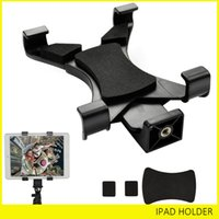 "Wholesale Ipad Tripod Adapter - Universal Tablet Stand Tripod Mount Holder Adapter For 7""~10.1"" Pad iPad Pro Air 2 3 4 5 6 Mini Samsung Tab"