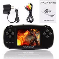 """Wholesale Portable Tft Lcd Tv - PVP Game Handheld Console 3.0"""" TFT 256M RAM Portable Game Retro Player LCD Scree Classic 168 FC Games in 1 TV Out"""