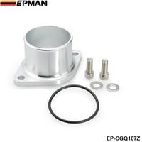 Wholesale T25 Flange - EPMAN H G Turbo Compressor Inlet Flange Adapter for Nissan SR20DET Garrett GT25 GT28 T25 T28 EP-CGQ107Z