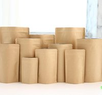 Wholesale Kraft Paper Bags Free Shipping - Kraft paper bag is used for the packaging of fruits and food tea packing bag free shipping