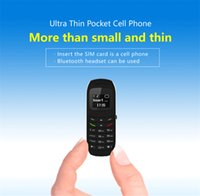 Wholesale Gsm Dialer Wireless - BM70 Bluetooth Mini Phone 0.66inch With GSM Network Bluetooth Dialer Car Headset Mini Unlocked Phone