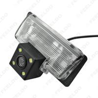 Wholesale Parks Nissan - FEELDO Car Rear View Camera with LED light for Nissan Teana Paladin Tiida Sylphy Reversing Parking Camera #4056