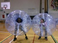 Wholesale Inflatable Human Zorb Balls - Factory Price 1.7m 0.8mm PVC Inflatable Human Hamster Ball Zorb Ball Loopy Balloon Bubble Soccer Ball