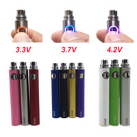 Wholesale Ecig Variable - 10pcs Lot EVOD Variable Voltage battery 650mAh 900mAh 1100mAh evod twist eGo ecig batteries for MT3 CE4 CE5 atomizer
