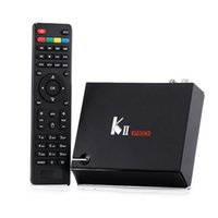 Wholesale Hdmi Hd Dvb - KII PRO Android Box Video 2GB+16GB DVB T2 DVB S2 K2 Android5.1 TV BOX Amlogic S905 Dual WIFI IPTV Smart Media Player