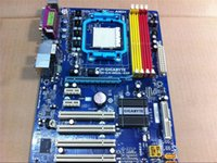 Wholesale Gigabyte Amd Motherboards - 100% original Free shipping motherboard for Gigabyte GA-M52L-S3P AM2 AM2+ AM3 DDR2 motherboard Solid-state integrated 16G RAM