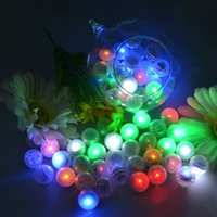 Guirlande Pearls !!! Battery Operated Mini Twinkle LED Lumière Baies LED Ball 2CM Floating Pour Wedding Party Events Décoration Lumière