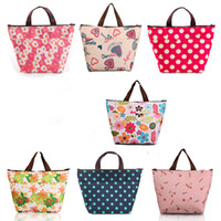 Wholesale Cool Stuff Free Shipping - 34*12*22cm Thermal Travel Picnic Thermal Bag Lunch Tote Waterproof Insulated Cooler Carry Lunch Box Bag Organizer 20Pcs Lot Free Shipping