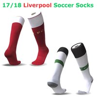 Wholesale NEW English club Salah soccer socks FIRMINO COUTINHO ROBERTSON HENDERSON MANE football soccer socks Calcetines de futbol