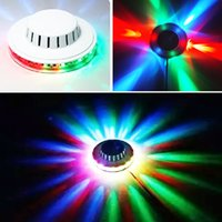 Wholesale Disco Stage Design - New Design LED UFO party light magic Sunflower light Stage lights colorful disco dancing light for party and club