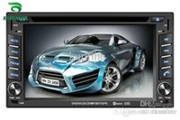 Wholesale Dvd Usb Tv - Universal 6.2 Inch Touch Screen 2 Din Car DVD GPS Player Car Stereo with Audio Radio USB   SD Bluetooth   TV and steering wheel control
