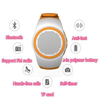 Wholesale Mini Speaker Good Bass - B20 Mini Bluetooth Speaker Bass Smart Watch Bluetooth Wireless Universal For Music Player With TF Card Good for Reselling