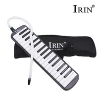 Gros-IRIN 32 Keyboard Key Melodica Harmonica électronique Mouth Organ Avec sac à main