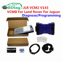Wholesale Land Rover Sdd - Newest V143 JLR VCM Professional Diagnostic Tool VCMII Replace For JLR SDD VCM VCM2 Scanner Special For Land Rover For Jaguar