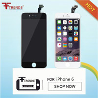 Wholesale iphone 4.7 lcd display resale online - White Black LCD Display Touch Digitizer Complete Screen with Frame Full Assembly Replacement for iPhone inch quot