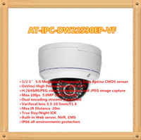 Barato Dome Varifocal Ir-5Mp Full HD Vandal-Proof IR Varifocal Network Dome Camera AT-IPC-DW22530EP-VF