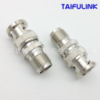 Wholesale Tnc Male Connectors - Taifulink BNC TNCK BNCJ Male Head To Turn Head of TNC Female Head All Copper High Quality RF Radio Frequency Coaxial Connector HS578