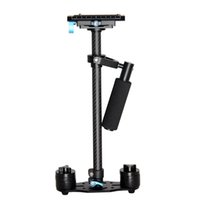 Wholesale Steadicam Dslr Stabilizer - YELANGU S60T Professional Portable Carbon Fiber Mini Handheld Camera Stabilizer DSLR Camcorder Video Steadicam Better than S60