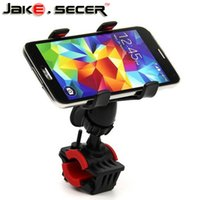 Wholesale Iphone Bracket For Bicycle - Wholesale-2016 Fashionable 360 Degree Rotatable Bicycle Bike Phone Holder Handlebar Clip Stand Mount Bracket For iPhone Samsung GPS MP4