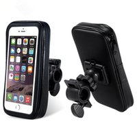Wholesale Gps Case Bike - New Bike Accessory Cycling Waterproof Handlebar Bicycle Mount Holder Case for Mobile Phone GPS DHL Free