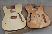 Wholesale Left Hand Semi Guitar - Semi-finished Electric Guitar Body made of Mahogany,Left-hand or Right-hand one to Choose from,can be Customized