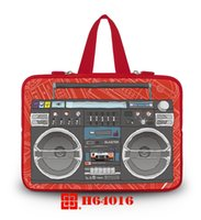 "Wholesale Neoprene Laptop Sleeves Handles - Eco high quality custom logo soft handled neoprene laptop 15"" bag for macbook bag"