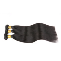 o cabelo tece em linha venda por atacado-7a cabelo Indiano virgem Reta Indiano cabelo virgem, Comprimento Misto não transformados pacotes de cabelo Indiano barato tecer cabelo humano online