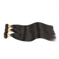Wholesale Cheap Hair Bundles Online - 7a Virgin Indian hair Straight Indian virgin hair, Mixed Length unprocessed Indian hair bundles cheap human hair weave online