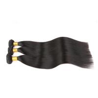 ingrosso bundle dei capelli in linea-Capelli vergini indiani dei capelli indiani vergini 7a, capelli indiani non trattati dei capelli indiani di lunghezza mista tessono il tessuto in linea a buon mercato