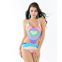Wholesale Sexy Push Up Bathingsuit - 2016New lady monokini Sexy Brazilian Style Crochet Bikini Bandage Bikini Crochet beachwear for lady bathingsuit push up bikini free shipping