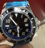 satılık mekanik saatler toptan satış-Özel Satış Brel Marka Otomatik İzle Erkekler Silve Vaka Siyah Dial Paslanmaz Band Süper Okyanus Mekanik Casaul İzle Montre Homme
