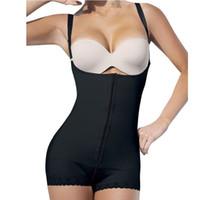 butt-modell großhandel-Wholesale-Slimming Gürtel Körper Frauen Butt Lifter Latex Taille Cincher Modelle Riemen Ganzkörper Korsetts Höschen Shapewear Mantel
